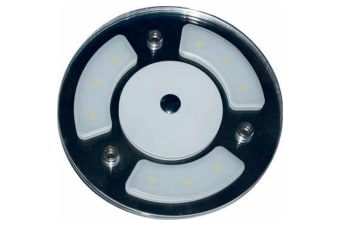 Dimatec Round Touch Switch 6 LED Caravan Ceiling Light (Blue) (One Size)