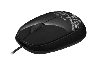 Logitech Corded Mouse M105 - Black (910-002920)