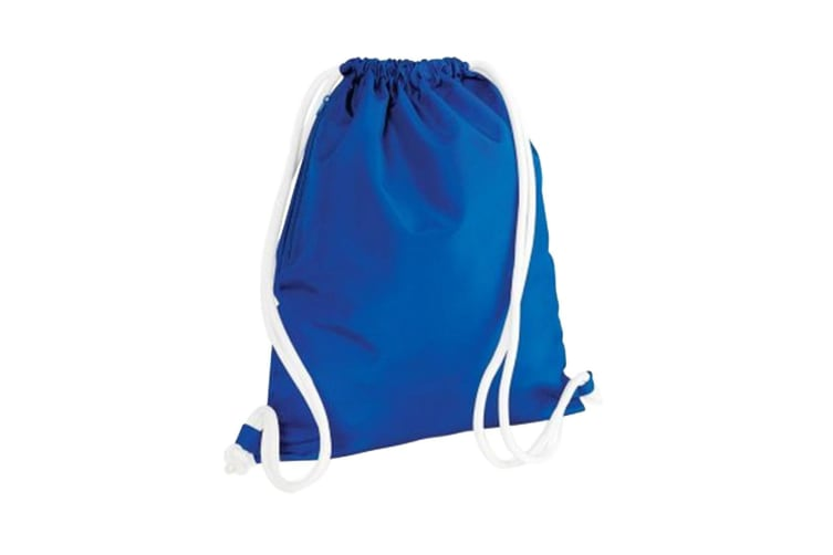 Bagbase Icon Drawstring Bag/Gymsac (Pack of 2) (Bright Royal) (One Size)