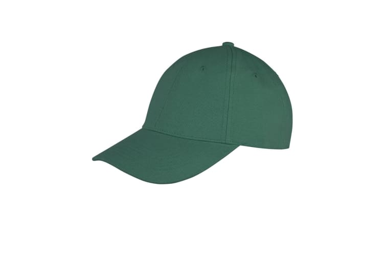 Result Unisex Core Memphis 6 Panel Baseball Cap (Pack of 2) (Bottle Green) (One Size)