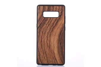 For Samsung Galaxy Note 8 Back Case Elegant Wood Texture Durable Shielding Cover