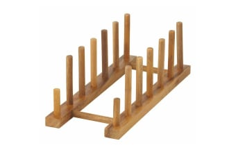 Davis And Waddell Acacia Wood Plate Stand