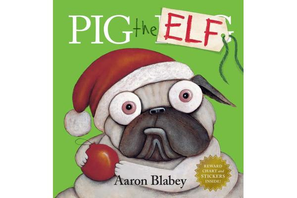 Pig the Elf with Reward Chart and Stickers
