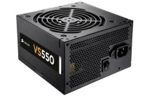 Corsair 550W VS 80+ Certified 12mm FAN  Black ATX PSU 3 Years Warranty