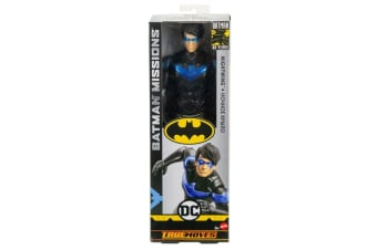 Batman Missions True Moves 12 Inch Crime Clown Nightwing Figure