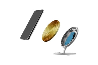 QI Wireless Charger For iPhone XR XS MAX Samsung Galaxy S10 S10+ S10e  Waves