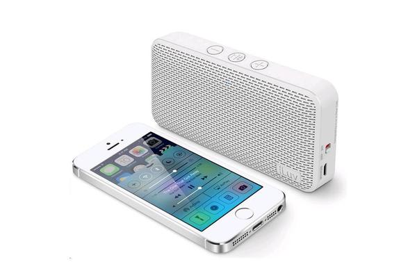 iLuv iLuv Ultra Slim Bluetooth Speaker White