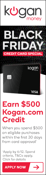 Black Friday | Kogan Credit Cards
