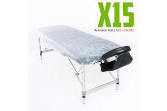 Disposable Massage Table Cover 180cm x 75cm 15pcs