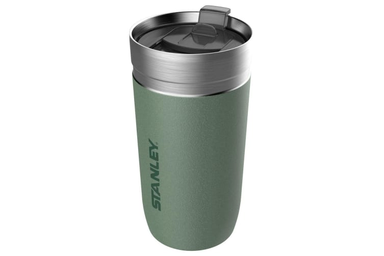 Stanley 473ml Vacuum Insulated Stainless Steel Go Tumbler w  Slider Lid Green