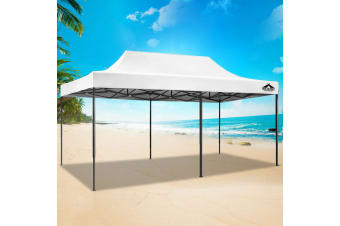 Pop Up Gazebo 3x6 Outdoor Tent Folding Wedding Marquee Gazebos WH