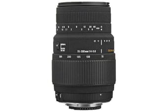 New Sigma 70-300mm F4-5.6 DG MACRO Lens for Nikon (FREE DELIVERY + 1 YEAR AU WARRANTY)