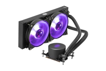 Cooler Master MasterLiquid ML280 RGB (TR4) All in One Watercooling with 2 X  RGB 140MM  fan -  MAX