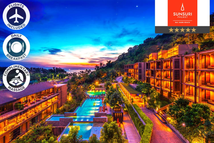 PHUKET: 5 Nights Stay at Sunsuri Phuket Including Flights for Two (Departing PER)