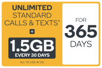 Kogan Mobile Prepaid Voucher Code: SMALL (365 Days | 1.5GB Per 30 Days)