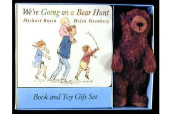 WE'RE GOING ON A BEAR HUNT BOOK AND PLUSH