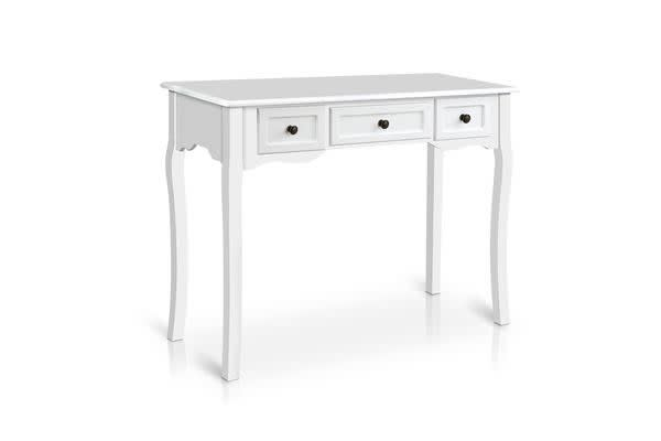 Artiss French Provincial Hall Table (White)