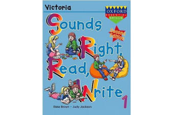 Sounds Right, Read, Write Victoria Book 1 - Victoria Book 1