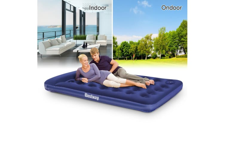 Bestway Air Bed Mattress with Built-in Foot Pump - Double
