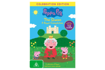 Peppa Pig The Queen A Royal Compilation DVD Region 4