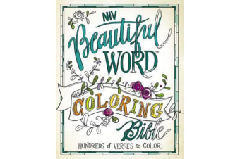 NIV, Beautiful Word Coloring Bible, Hardcover - Hundreds of Verses to Color