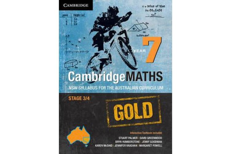 Cambridge Mathematics Gold NSW Syllabus for the Australian Curriculum Year 7 Pack and Hotmaths Bundle