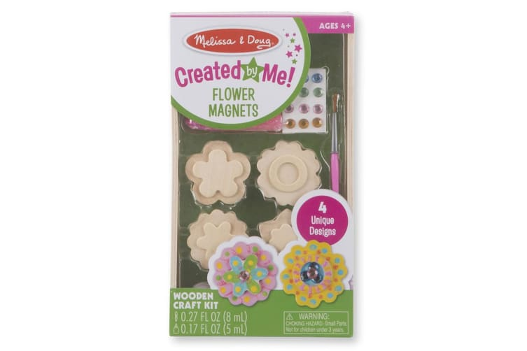 Melissa and Doug Created by Me Flower Magnets