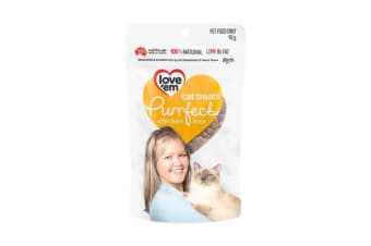 Love'em Purrfect Chicken Cat Treats