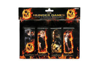The Hunger Games Bookmarks Magnetic Set of 4