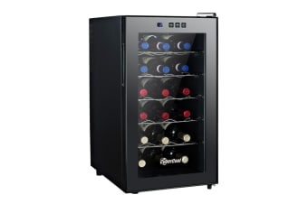 CyberCool Single Zone Thermoelectric Wine Cooler - 18 Bottles