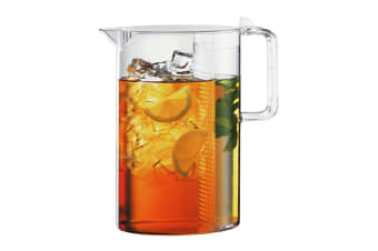 Bodum Ceylon Ice Tea Jug with Filter - 1.5 L, 51 oz (1470-10S)