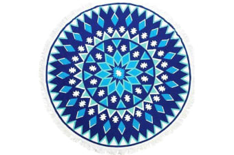 TODO Luxury Thick Microfiber Round Beach Towel Throw Rug Ttowel18