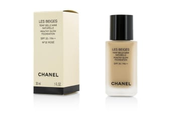 Chanel Les Beiges Healthy Glow Foundation SPF 25 - No. 32 Rose 30ml/1oz