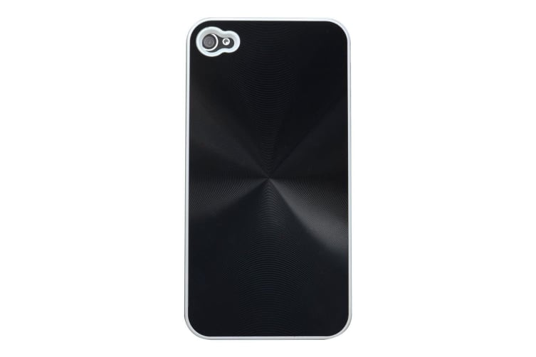 For iPhone 4S 4 Case Cool  3D Effect Durable Shielding Cover Black
