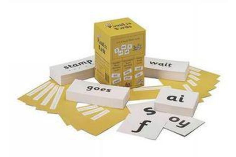Jolly Phonics Cards (set of 4 boxes) - in Precursive Letters