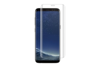 Generic Glass Screen Protector for Samsung Galaxy S8 - Transparent
