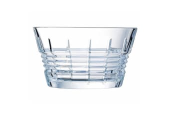 Cristal D'Arques Rendez-Vous 22cm Salad Serving Glass Bowl Tableware Servingware