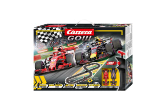 Carrera Go 1:43 4.3m Formula 1 Race To Win Slot Car Racing Tracks Kids Toy 6y+