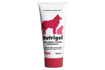 Nutrigel High-Energy Vitamin Concentrate for Dogs & Cats  - 200g