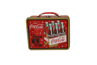 """Coca-Cola """"Refreshing"""" Large Carry All Tin"""