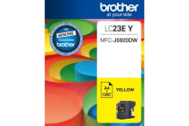 ***Brother LC23EY YELLOW INK CARTRIDGE TO SUIT MFC-J5920DW - UP TO 2400 PAGES******AYS Partner Exclusive***