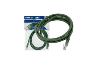 Pro2 20M Green Cat5E Patch Lead