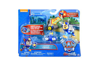 Paw Patrol Sea Patrol Light Up Chase with Pup Pack and Mission Card