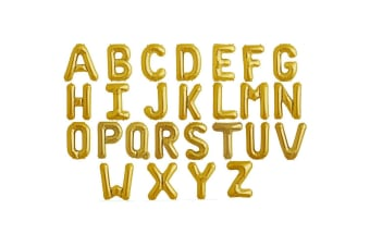 NorthStar 34 Inch Gold Balloon Letters (Gold)