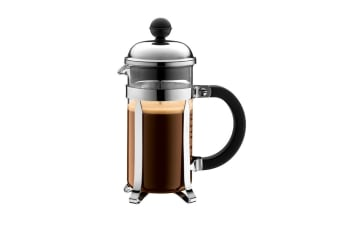 Bodum Chambord Stainless Steel Coffee Maker - 350ml/3 Cup (1923-16)