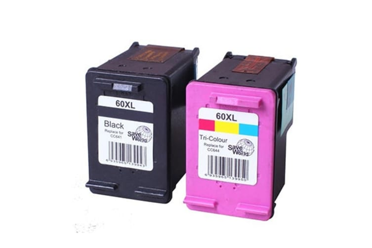 60XL Remanufactured Inkjet Cartridge Set