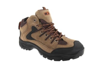 Dek Mens Ontario Lace-Up Hiking Trail Boots (Khaki)