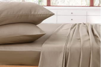 Ardor 1000TC Luxury Sheet Set (Latte)