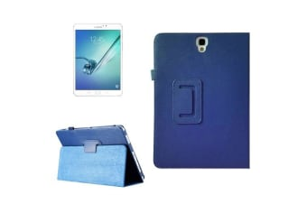 For Samsung Galaxy Tab S3 SM-T810 815 Case Lychee Leather Protective Cover Blue