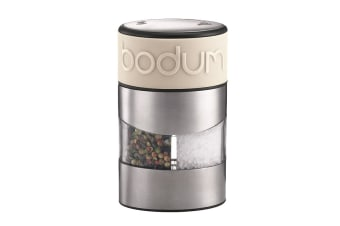 Bodum Twin Salt & Pepper Grinder - White (11002-913)